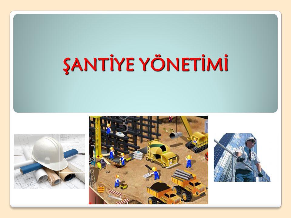 Şantiye (construction site), inşaat yapım işlerinin yürütüldüğü alana verilen isimdir.