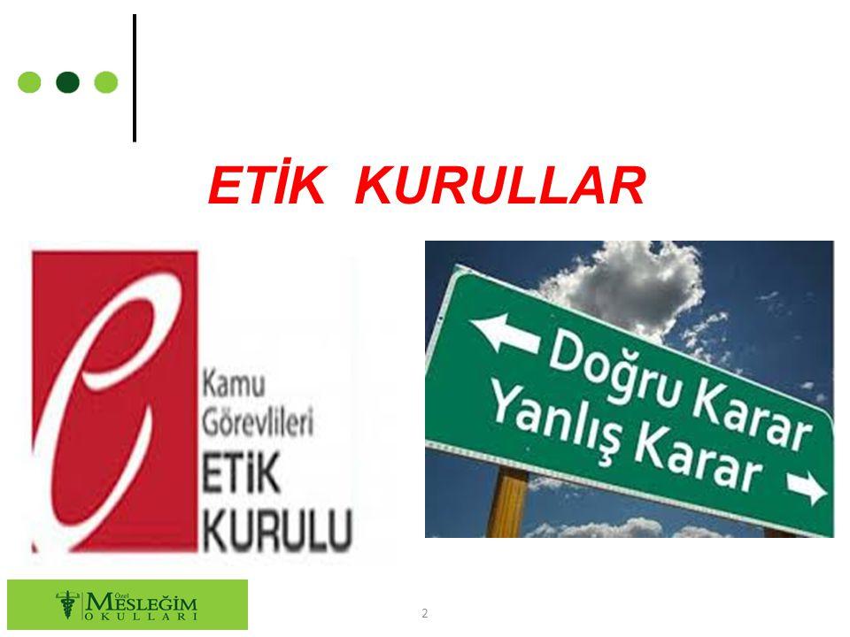 ETİK KURULLAR 2