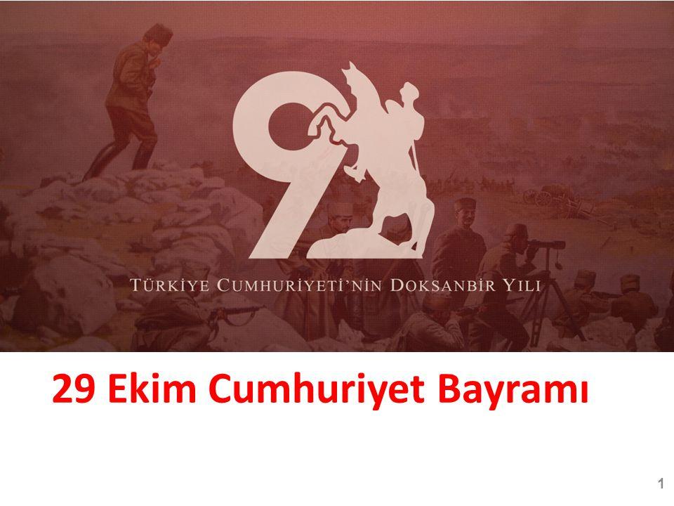 29 Ekim Cumhuriyet Bayramı 1