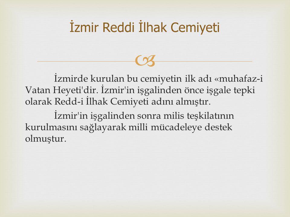  4 aralık1918!de İstanbul da kurulmuştur.