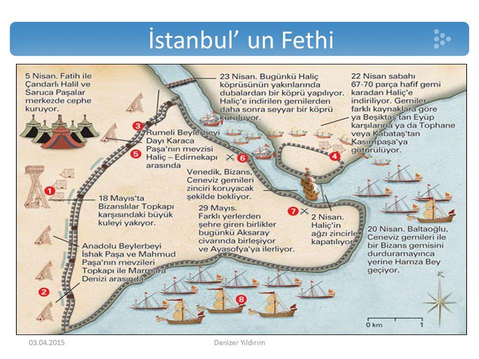 İstanbul' un Fethi 03.04.2015Denizer Yıldırım