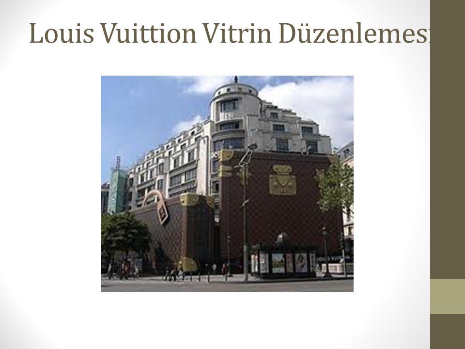 Louis Vuittion Vitrin Düzenlemesi