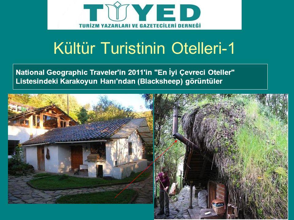 Kültür Turistinin Otelleri-1 National Geographic Traveler'in 2011'in