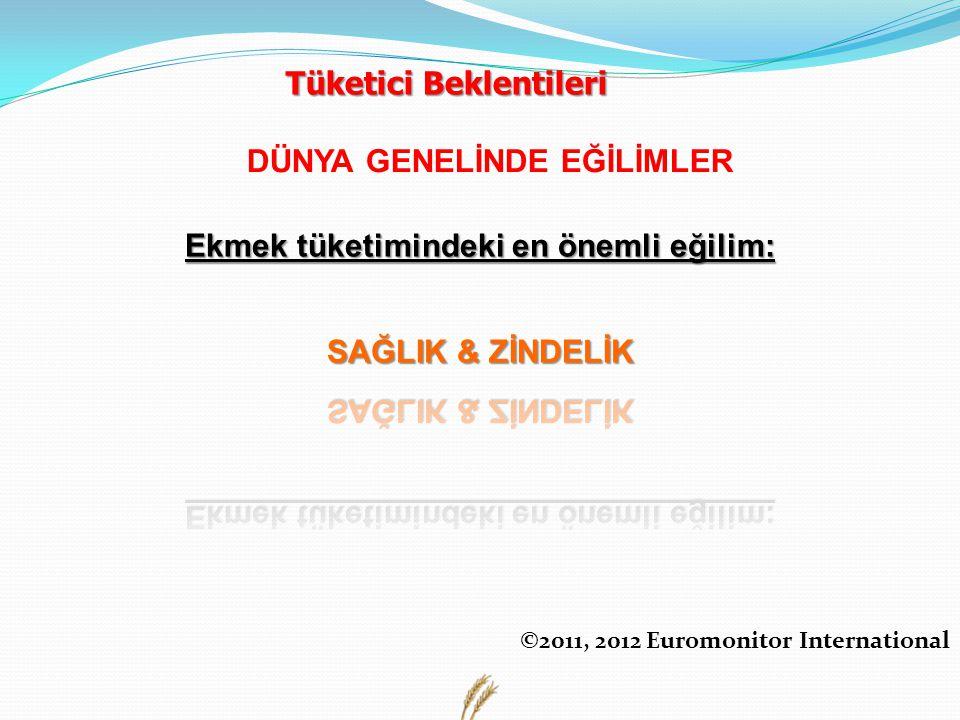 Tüketici Beklentileri DÜNYA GENELİNDE EĞİLİMLER ©2011, 2012 Euromonitor International