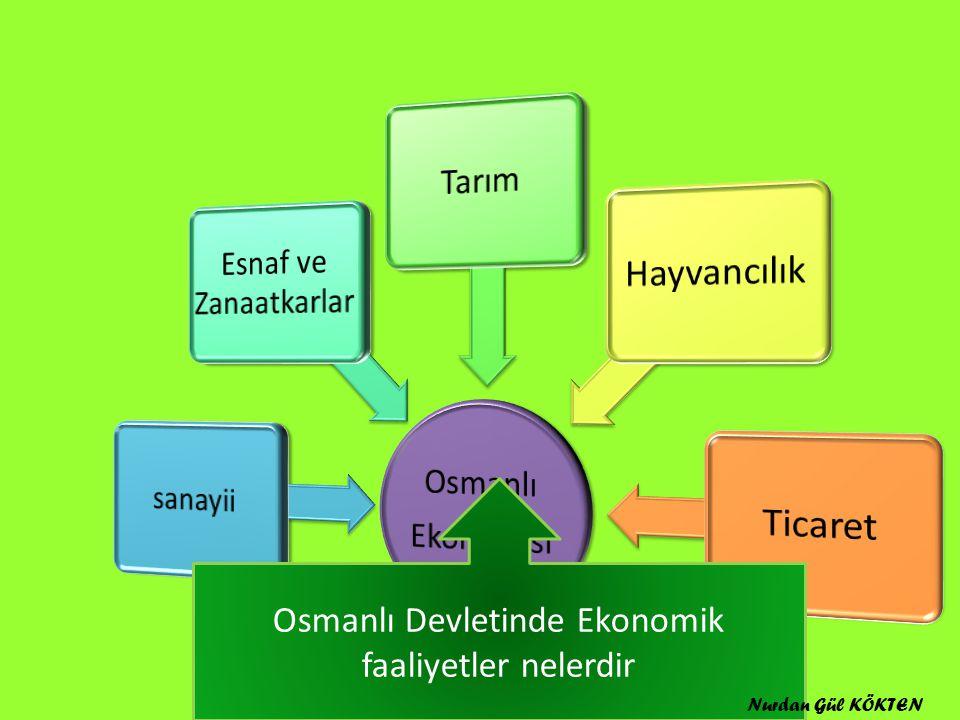 Osmanl ı Devletinin Sanayiiyi Geli ş tirmek İ çin Ald ığı Tedbirler: Nurdan Gül KÖKTEN