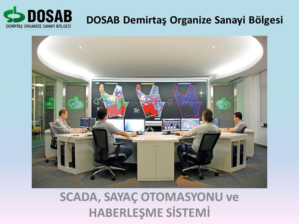 DOSAB Demirtaş Organize Sanayi Bölgesi SCADA, SAYAÇ OTOMASYONU ve HABERLEŞME SİSTEMİ