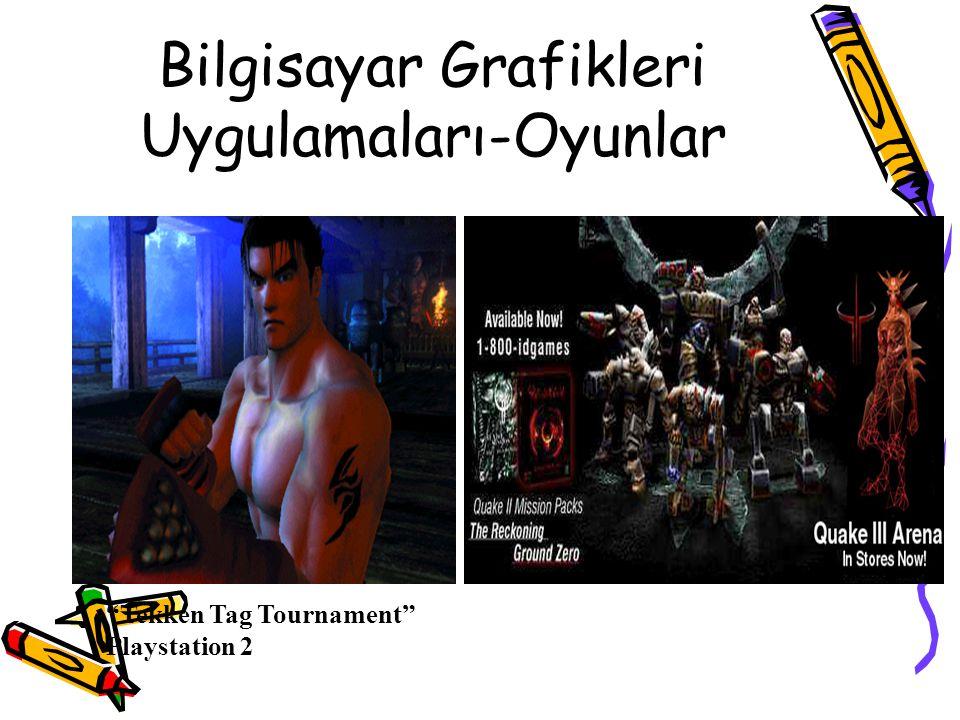 "Bilgisayar Grafikleri Uygulamaları-Oyunlar - Video Games ""Tekken Tag Tournament"" Playstation 2"