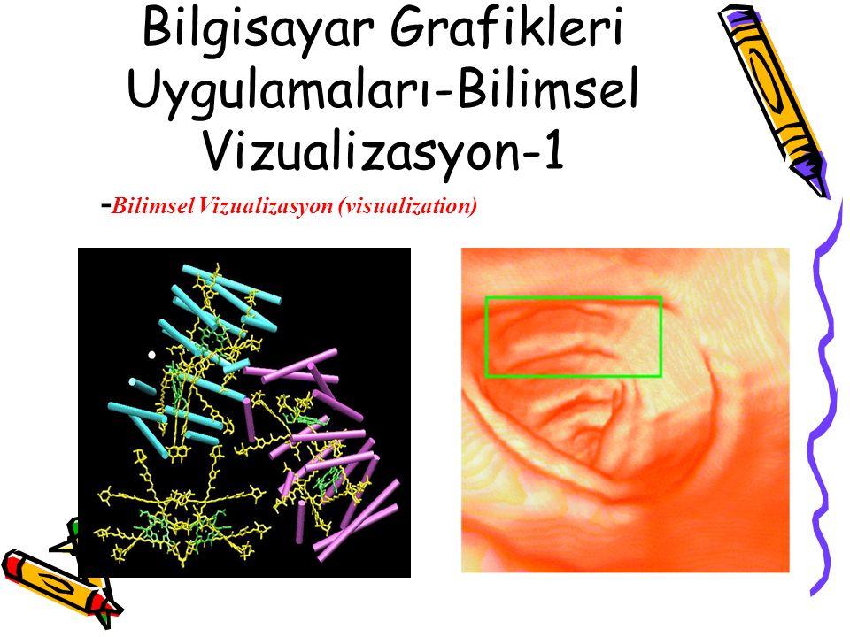 Bilgisayar Grafikleri Uygulamaları-Bilimsel Vizualizasyon-1 - Bilimsel Vizualizasyon (visualization)
