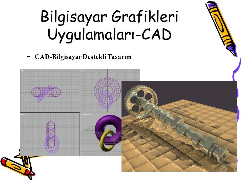 Bilgisayar Grafikleri Uygulamaları-CAD - CAD-Bilgisayar Destekli Tasarım