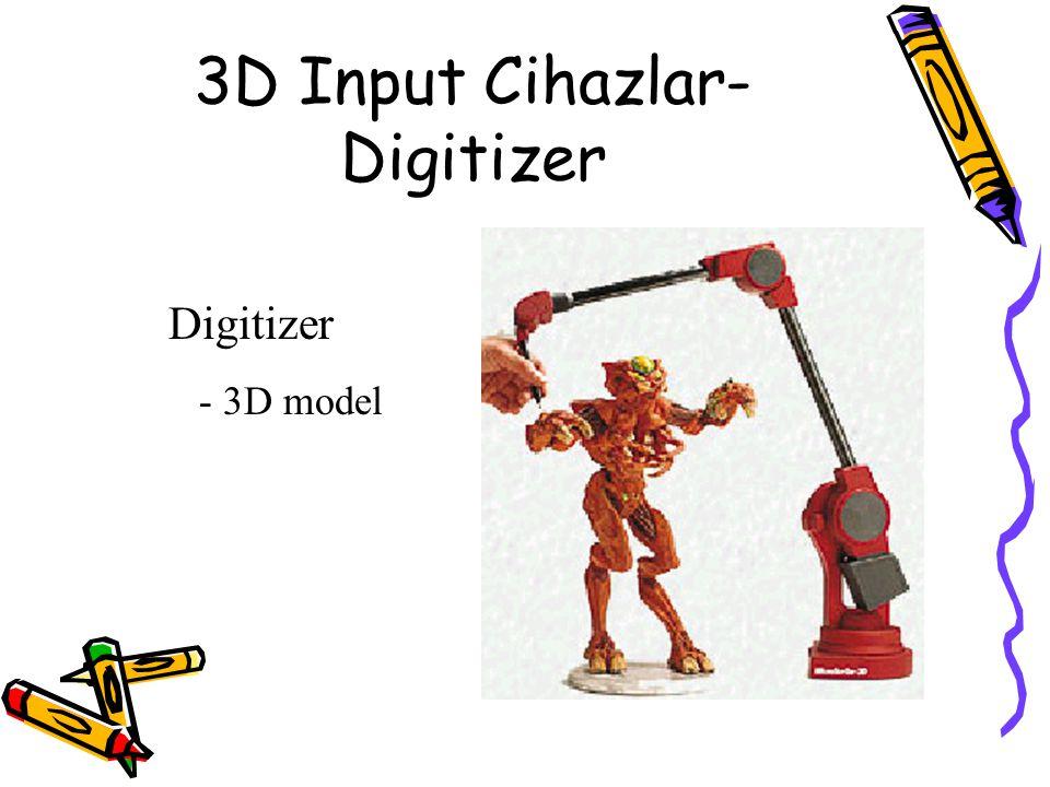 3D Input Cihazlar- Digitizer Digitizer - 3D model