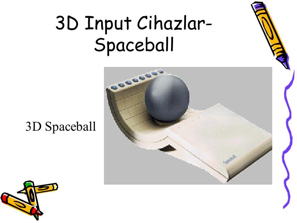 3D Input Cihazlar- Spaceball 3D Spaceball