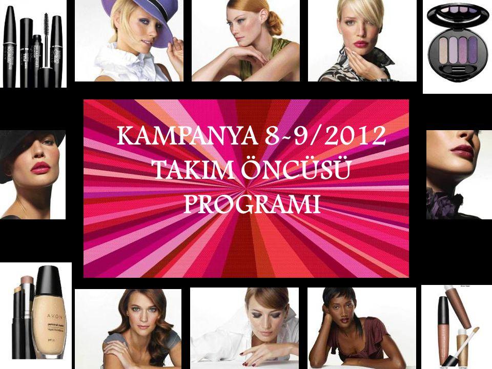 KAMPANYA 8-9/2012 TAKIM ÖNCÜSÜ PROGRAMI