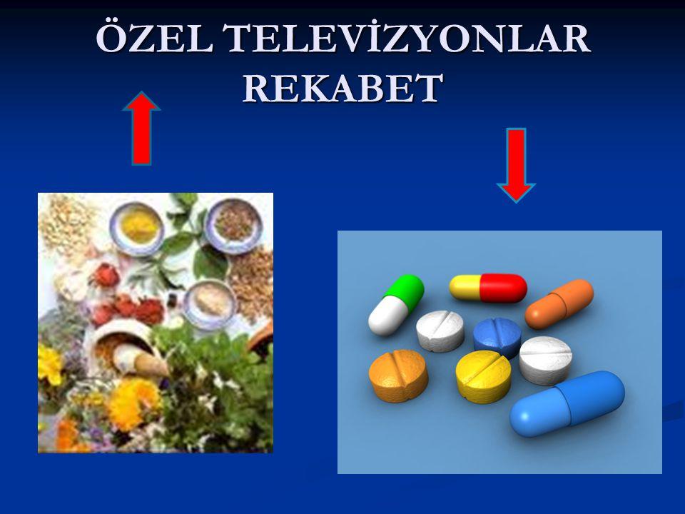 ÖZEL TELEVİZYONLAR REKABET