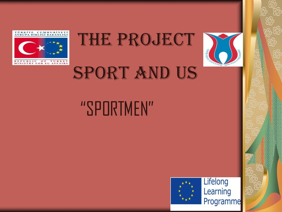 SPORT AND US THE PROJECT SPORTMEN