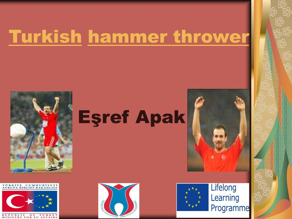 Eşref Apak Turkish hammer thrower