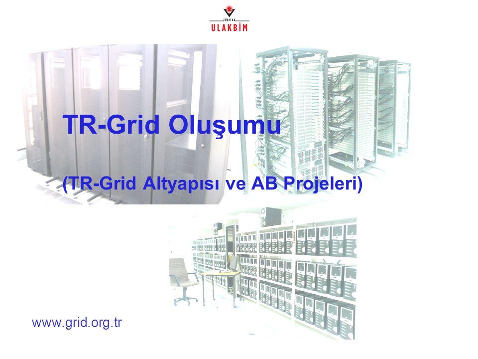 Ulusal Grid Çalıştayı, Ankara, 1 Mart 200722/32 - TR-Grid Projeler - Yrd.