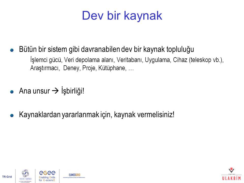 Ulusal Grid Çalıştayı, Ankara, 1 Mart 200725/32 - Yeni Altyapı - Yrd.