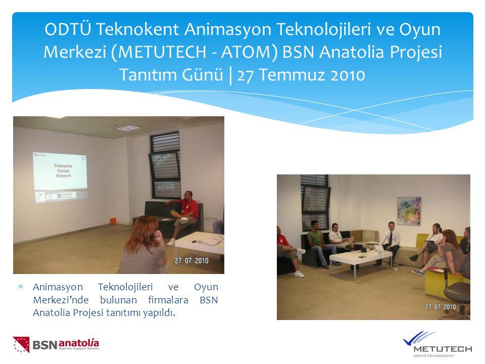 KOSGEB Yeni Destek Paketleri Tanıtım Toplantısı | 11 Ağustos 2010  KOSGEB'in yeni destek paketlerinin ODTÜ Teknokent İkizler Binası'nda yapılan tanıtım gününe katılım yoğundu.