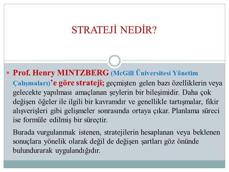 STRATEJİ NEDİR.Prof.