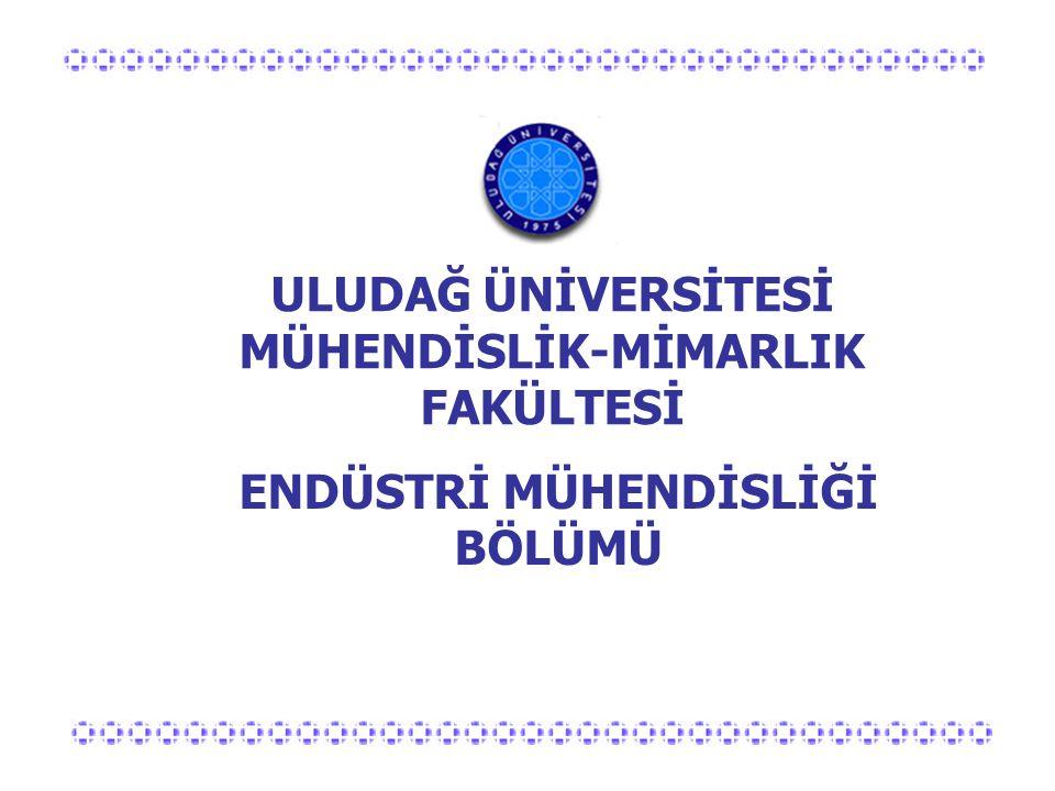 Artılarımız  Yurt içi ve dışında iyi eğitim görmüş öğretim elemanları  Düşük sınıf kontenjanları (50 kişi)  Yüksek öğrenci-öğretim üyesi etkileşimi  Dünyadaki endüstriyel gelişmelere paralel ders içerikleri  Bursa'nın bir sanayi kenti olması  Büyük endüstri kuruluşlarında staj olanakları  Akreditasyon çalışmaları  Avrupa üniversiteleri ile öğrenci değişimi