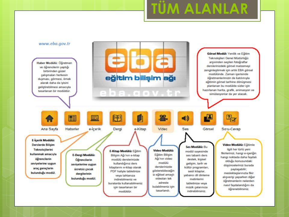 EDEBİYAT, DİL VE ANLATIM, TÜRKÇE UYGULAMA ADIKADEMEİÇERİK TÜRÜADRESTABLET İÇİN EBA Ders LiseE-İçerik, Video, Ses, E-Kitaphttp://ders.eba.gov.tr Kelime Grupları Uygulaması GenelUygulamahttp://www.eba.gov.tr/eicerikEBA Market Paragrafta Yapı uygulaması GenelUygulamahttp://www.eba.gov.tr/eicerikEBA Market Temel Eserler GenelÖzet Ses, Testhttp://www.eba.gov.tr/eicerikEBA Market Ben Kimim GenelUygulamahttp://www.eba.gov.tr/eicerikEBA Market Kelime Türetmece GenelOyunhttp://www.eba.gov.tr/eicerikEBA Market TDK Yazım Kılavuzu GenelYazım KılavuzuMobil UygulamaEBA Market TDK Güncel Sözlük GenelSözlükMobil UygulamaEBA Market Eba Günlük GenelUygulama (Anı yazma)Mobil UygulamaEBA Market Atasözleri Deyimler Sözlüğü GenelSözlükMobil UygulamaEBA Market Kelime Oyunu GenelOyunMobil UygulamaEBA Market El Yazı Defterim GenelUygulamaMobil UygulamaEBA Market Beyaz Gemi GenelSesli HikâyeMobil UygulamaEBA Market Arkadaşım Sarmaşık GenelSesli HikâyeMobil UygulamaEBA Market Final Yayınları (Mobilsoru) GenelYaprak Testhttp://www.mobilsoru.complay.google.co m Derspektif Ortaokul Lise Sınav Merkezi, Soru Bankasıhttp://app.futurino.com