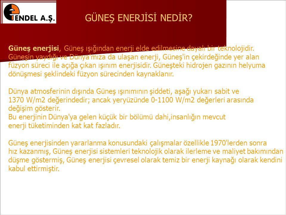 Güneş enerjisi, Güneş ışığından enerji elde edilmesine dayalı bir teknolojidir.