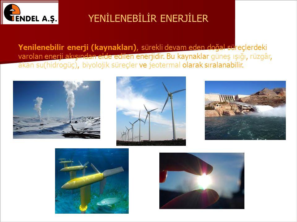 Yenilenebilir enerji (kaynakları), sürekli devam eden doğal süreçlerdeki varolan enerji akışından elde edilen enerjidir.