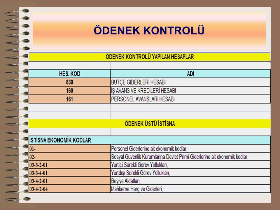 5- TASARIM Türkiye Kurum bütçelerine ilişkin, bütçe ve ödenek işlemleri, harcama, avans, ödenek ihtiyacı ve taşınır kayıtlarının Türkiye Bazında raporlandığı bölümdür.