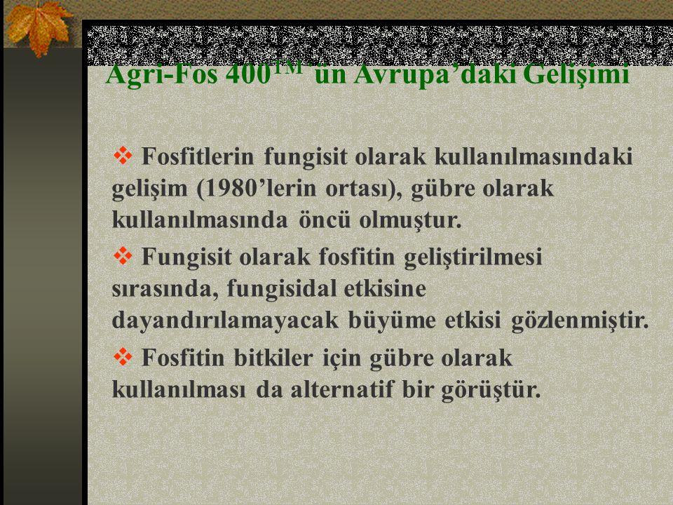 Agri-fos'u daha etkili kılan nedir.