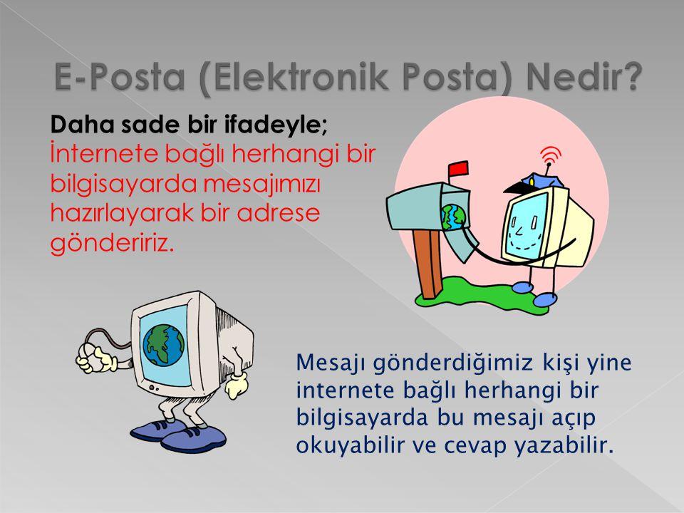  E-posta hizmetini veren şirket ya da kuruluştur.