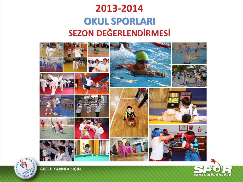 2013-2014 OKUL SPORLARI SEZON DEĞERLENDİRMESİ