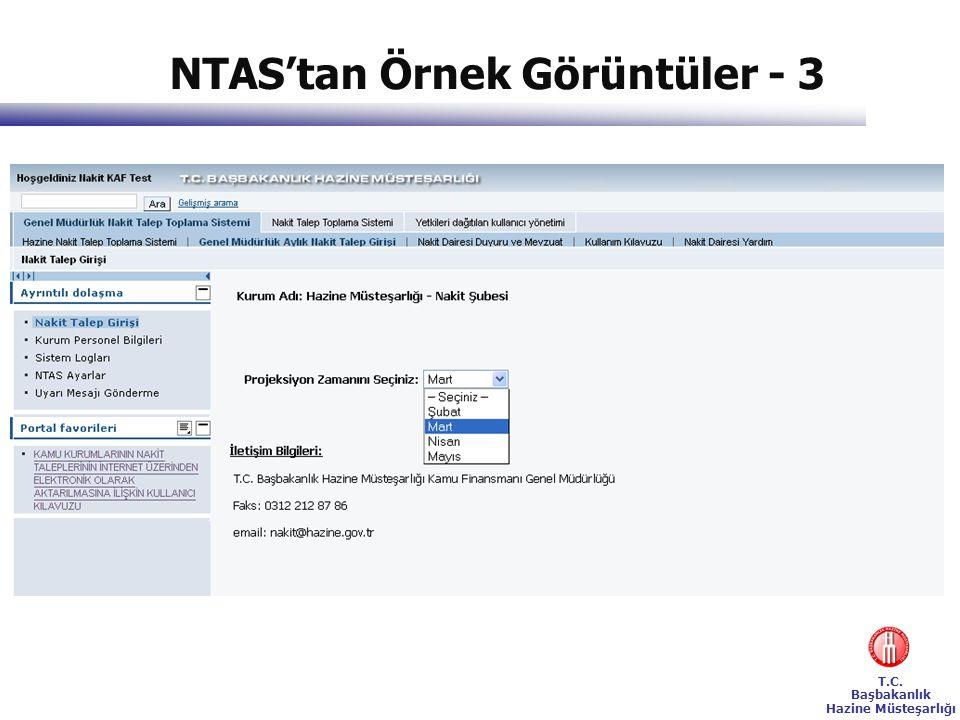 T.C. Başbakanlık Hazine Müsteşarlığı NTAS'tan Örnek Görüntüler - 3