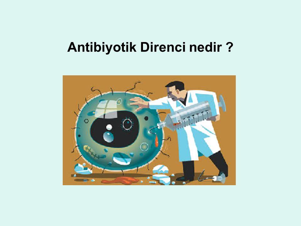Antibiyotik Direnci nedir ?