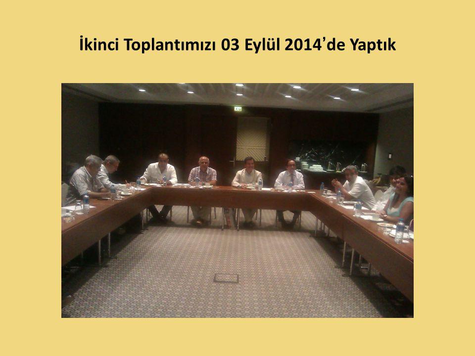 İkinci Toplantımıza Katılanlar Kadir Polat Musa Karademir Doç.