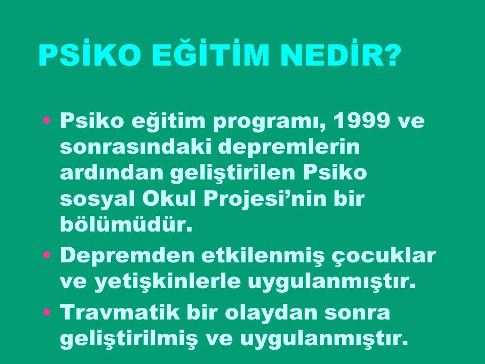 PSİKO SOSYAL BİLGİLENDİRME TOPLANTISI