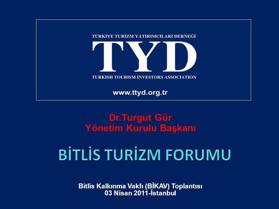 Dr.Turgut Gür Yönetim Kurulu Başkanı Bitlis Kalkınma Vakfı (BİKAV) Toplantısı 03 Nisan 2011-İstanbul