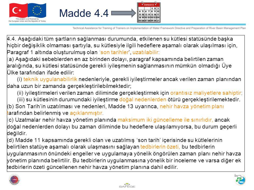 Madde 4.4 4.4.