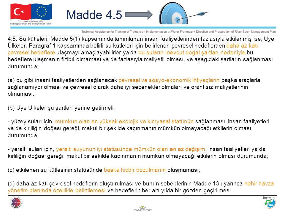 Madde 4.5 4.5.