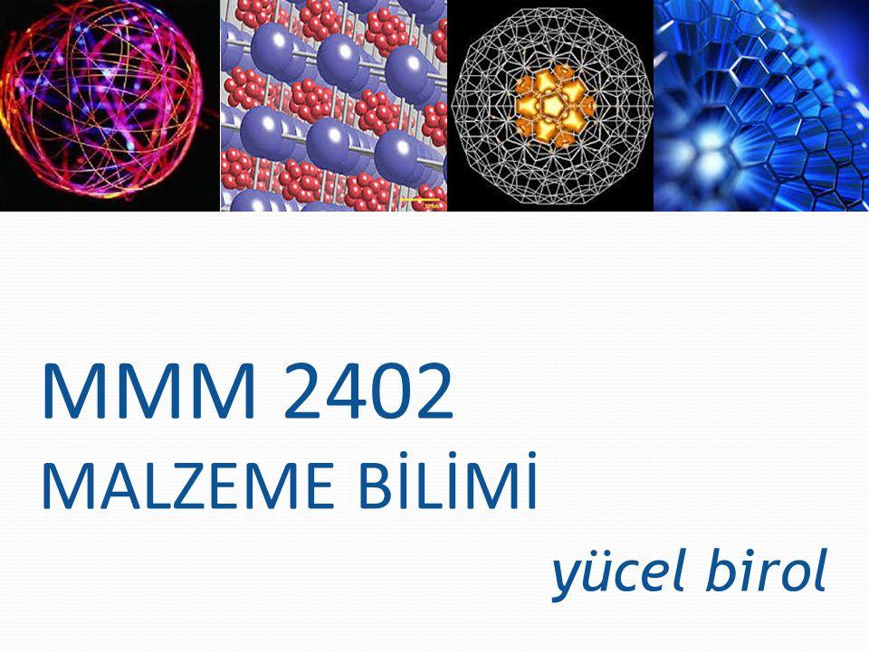 σ = 59 MPa için: hr -1 0.0066 = K.62 n 0.0025 = K.55 n 2.64 = 62 n / 55 n ln2.64 = n.ln62 – n.ln55 n=8.1 K=2.10 -17 problem