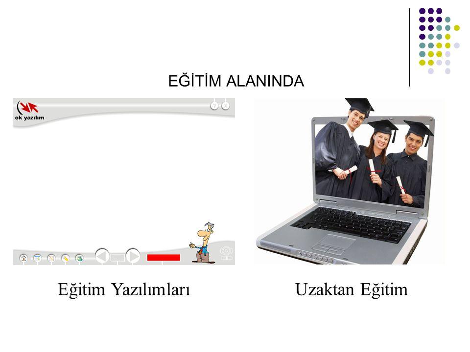 EĞİTİM ALANINDA Eğitim YazılımlarıUzaktan Eğitim