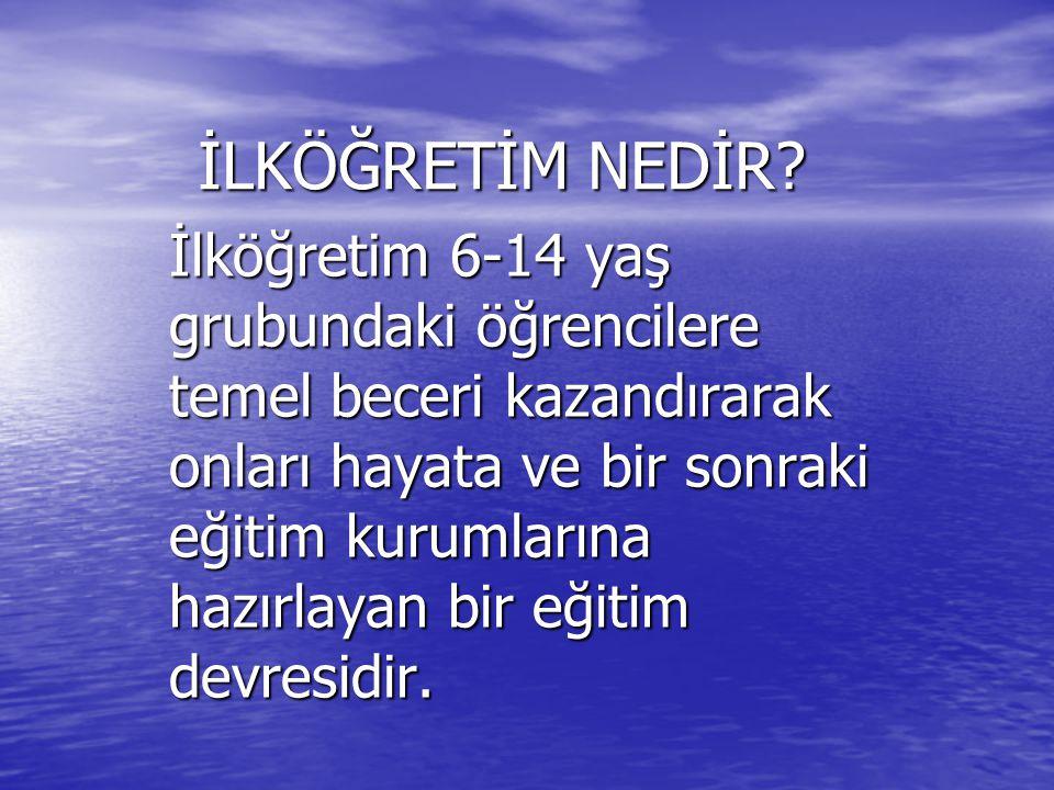 Türk toplumunda ilköğretim kuruluşlarının ortaya çıkması, Türklerin İslam dini içindeki gelişimi sırasında olmuştur.
