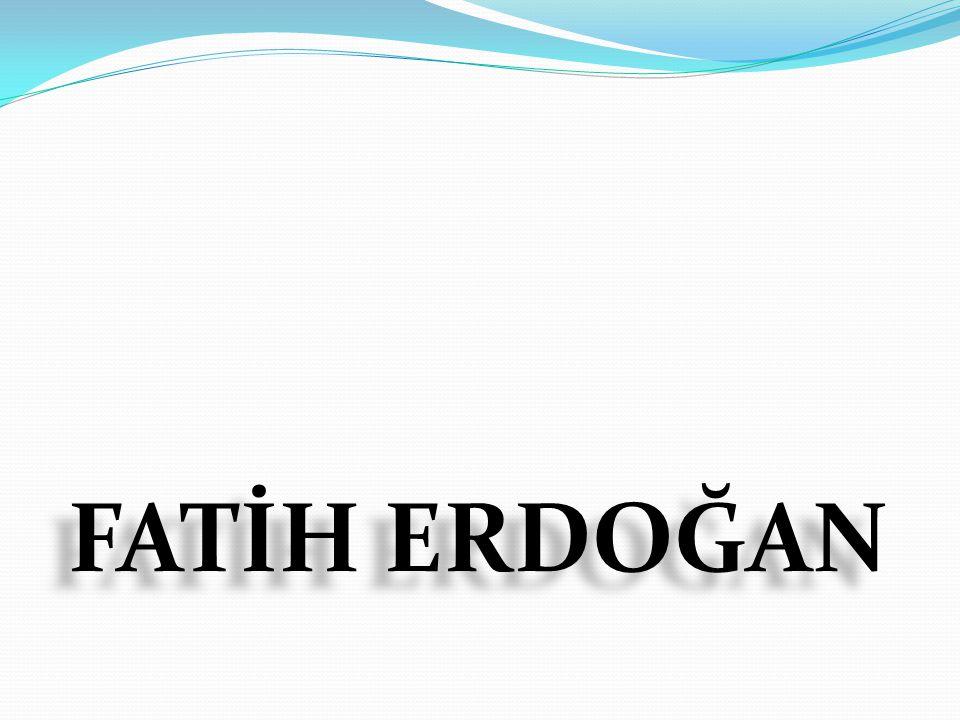 Fatih Erdoğan 23 Nisan 1954 te İzmir de doğdu.