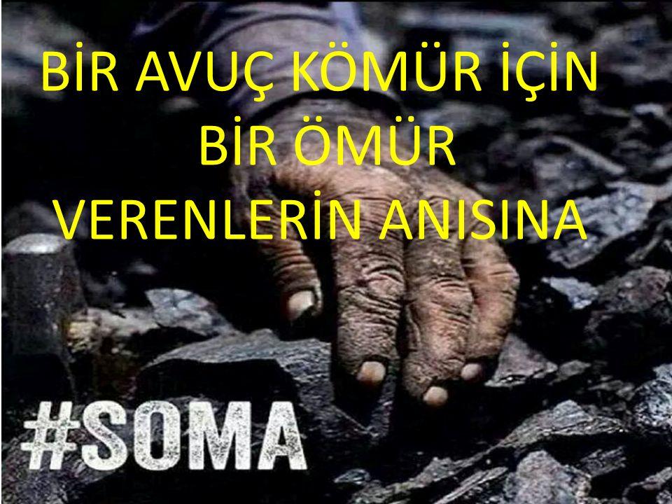 Türkiye'de bir kömür işçisi ayda ortalama 900 lira maaş alıyor.