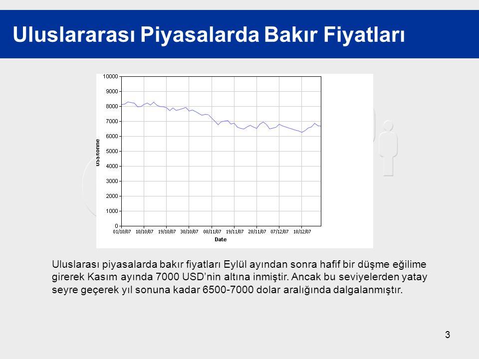 14 2008'e Bakış 60-70 Bin Ton Konsantre Üretimi Şirvan'da 50.5 MW kurulu güçlü hidroelektrik santrali