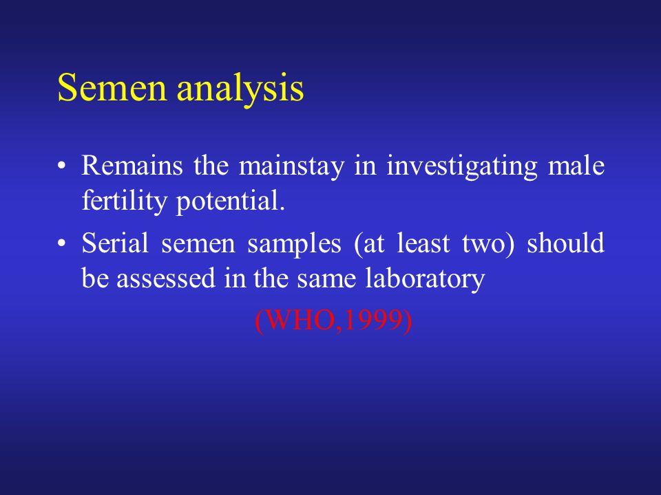 AZF - Azoospermi Faktörü AZFa - Tip -1 Sertoli-cell only syndrome spermatogonia yok AZFb Matürasyon arrest AZFc - Tip -2 Sertoli-cell only syndrome Farklı patolojiler çok az spermatogonia vardır kısıtlı spermatogenez Ferlin et al.