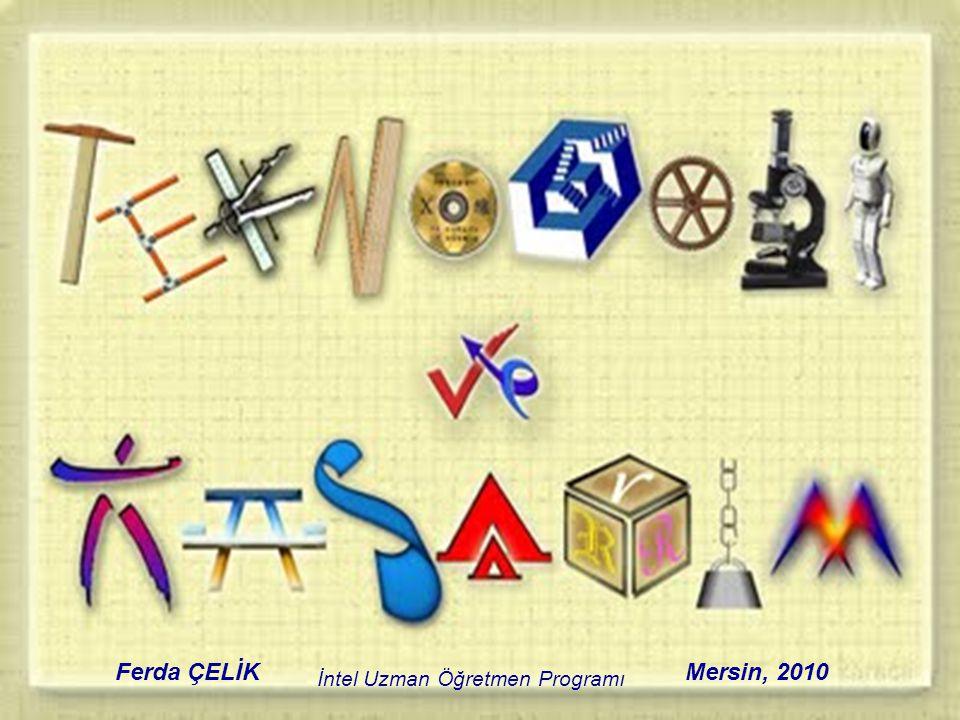 İntel Uzman Öğretmen Programı Mersin, 2010Ferda ÇELİK