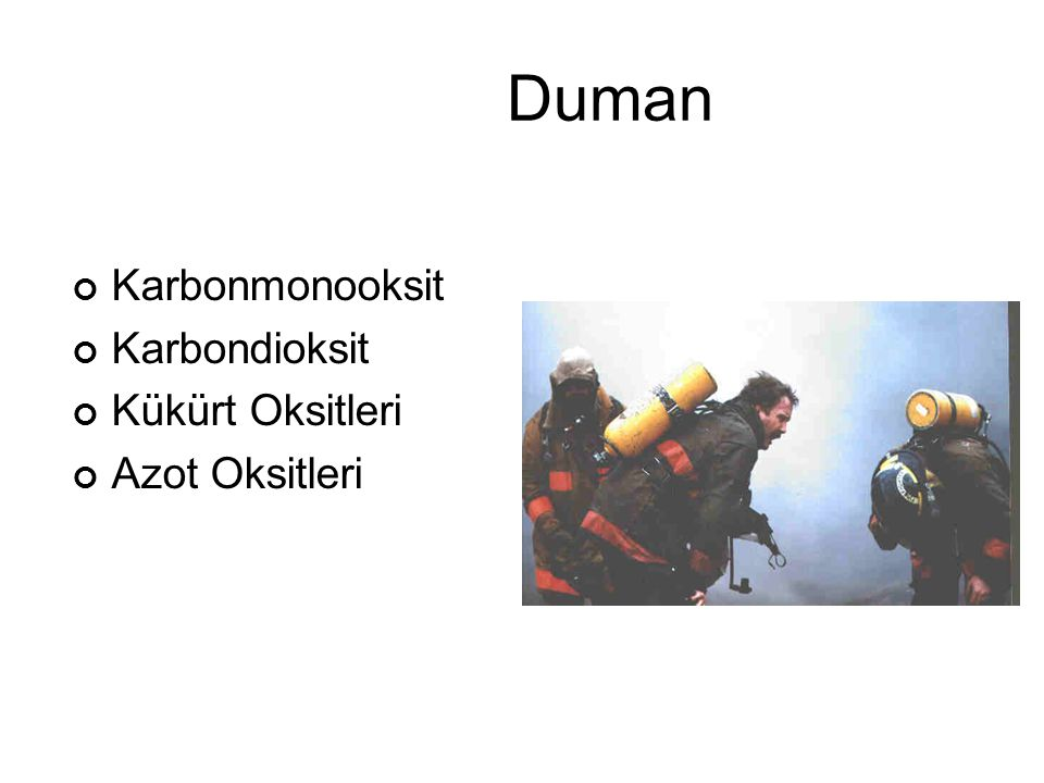 Yangın Sınıflandırılması A B C D Katı Sıvı Gaz Metal Odun, Kağıt, Plastik vb.