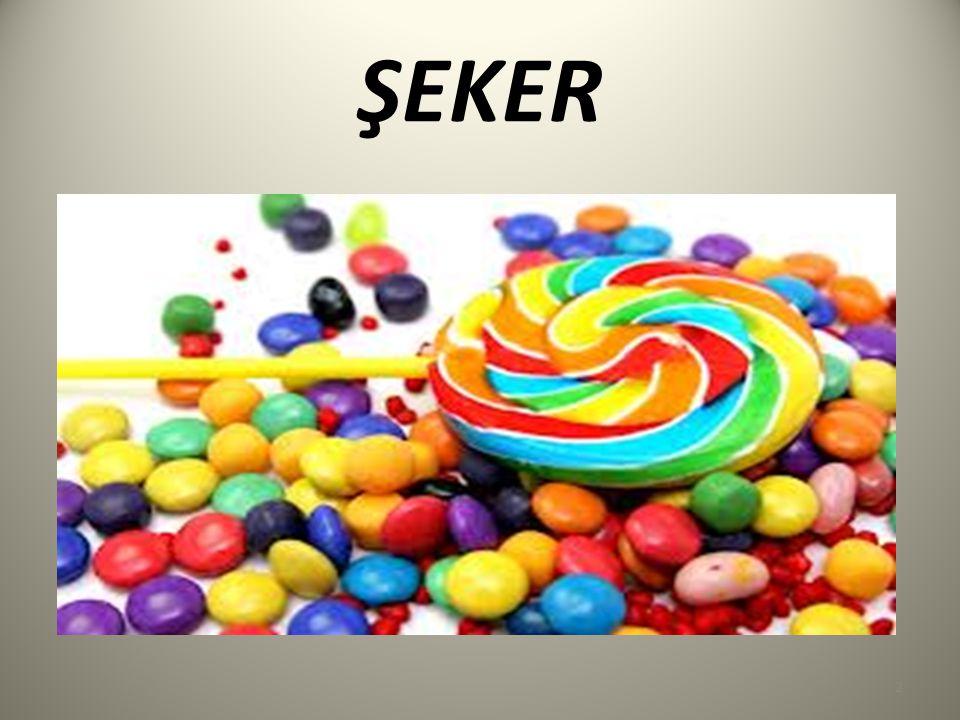 Şeker; Normalde sakarozun eş anlamlısı olarak bilinir.