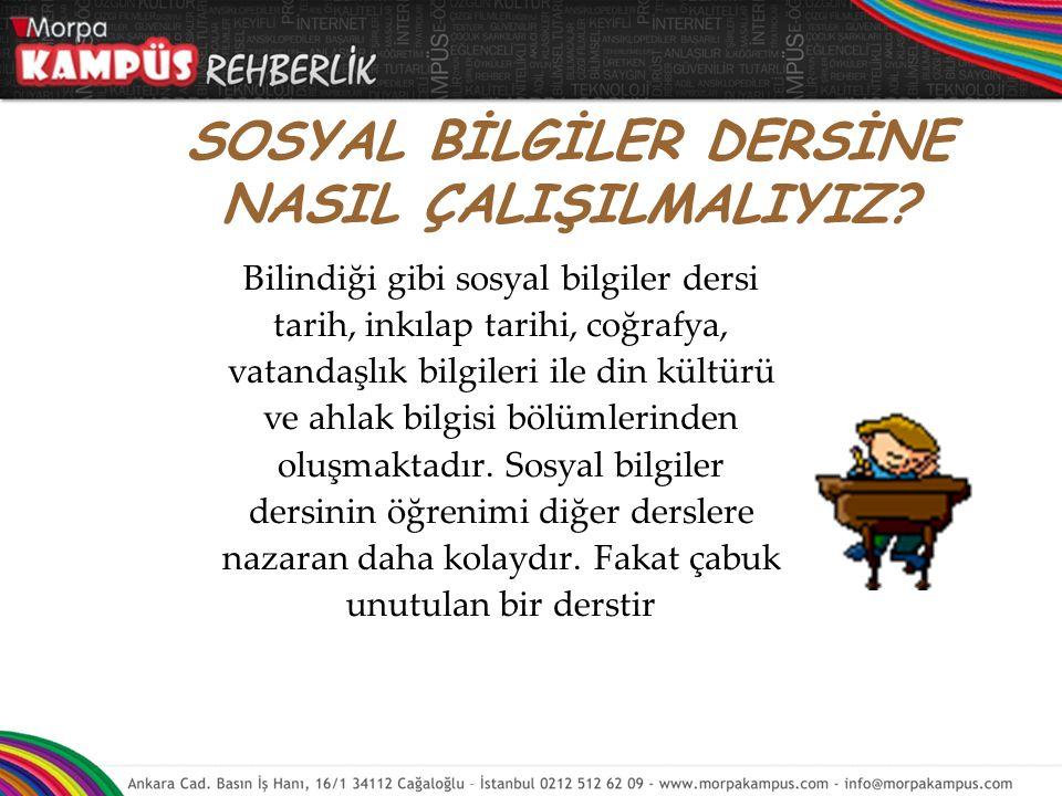 Türkçe konuları birbirinin devamı olduğu için konuları sırayla ve anlayarak çalışın. Bir konuyu çok iyi anlamadan diğerine geçmeyin.  Her konu bir so