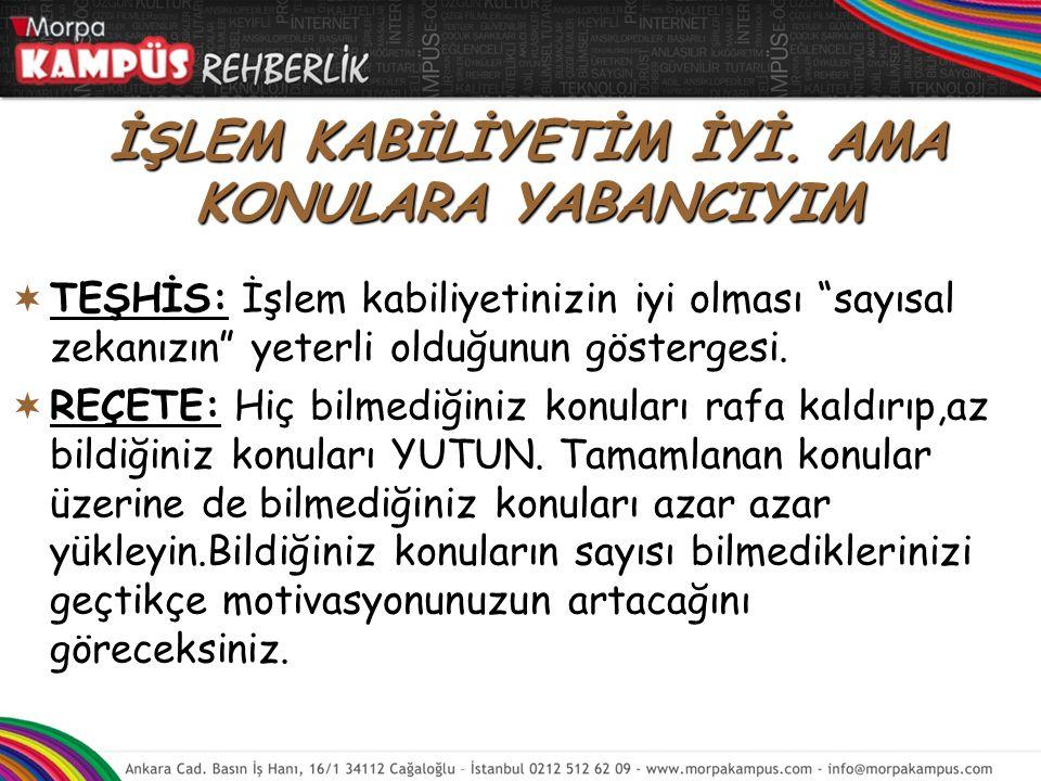 Türkçe konuları birbirinin devamı olduğu için konuları sırayla ve anlayarak çalışın.